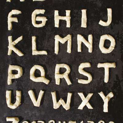Hmotou / experimentální písmo